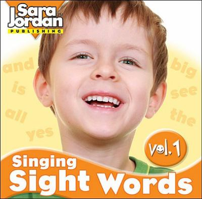 Singing Sight Words, Volume 1 9781553860877