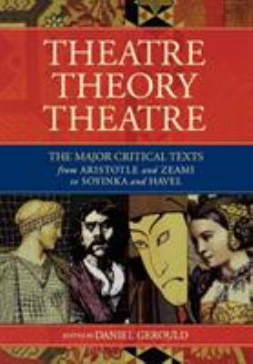 Theatre/Theory/Theatre 9781557833099