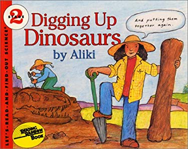 Digging Up Dinosaurs Book and Tape [With Book]