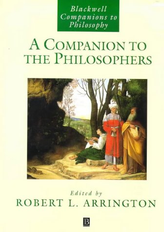 A Companion to the Philosophers 9781557868459