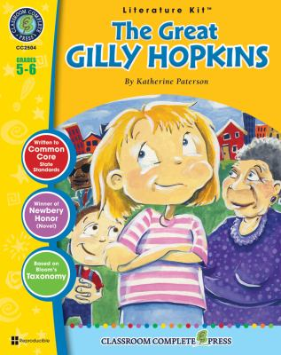 A Literature Kit for the Great Gilly Hopkins, Grades 5-6 [With 3 Overhead Transparencies] 9781553193364