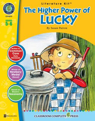 A Literature Kit for the Higher Power of Lucky, Grades 5-6 9781553194446