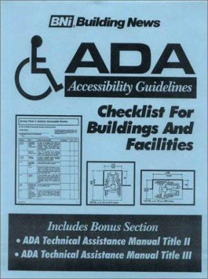 ADA Accessibility Guidelines 9781557011534