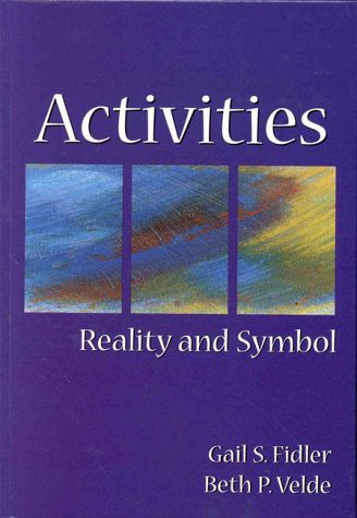 Activities: Reality and Symbol 9781556423833