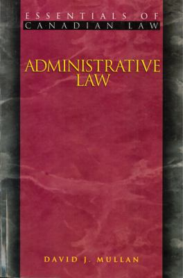 Administrative Law 9781552210093