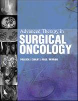 Advanced Therapy in Surgical Oncology 9781550091267