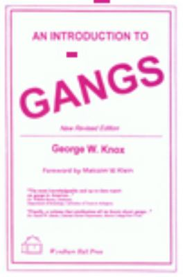 An Introduction to Gangs 9781556052491