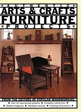 Authentic Arts & Crafts Furniture Projects 9781558705685