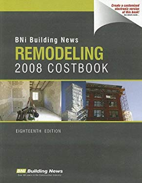 BNI Building News Remodeling Costbook 9781557015907