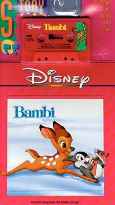 Bambi, with Book