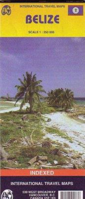 Belize International Travel Map 9781553411338