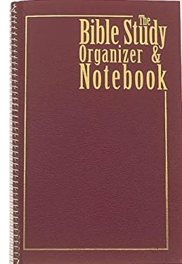 Bible Study Organizer & Notebook 9781557484604