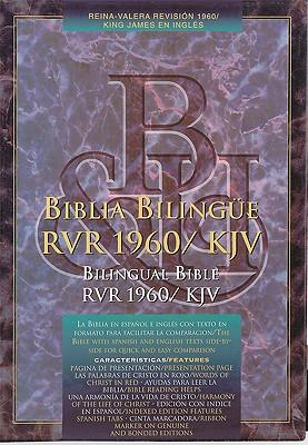 Biblia Bilingue-PR-RV 1960/KJV 9781558190290