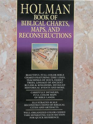 Book of Biblical Charts, Maps, and Reconstructions 9781558193598