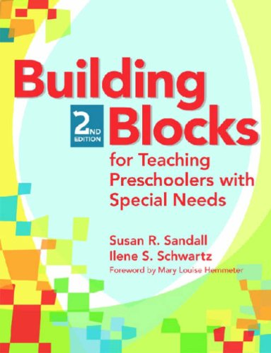 Building Blocks for Teaching Preschoolers with Special Needs [With CDROM] 9781557669674