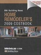 Building News Home Remodeler's Costbook 9781557016263