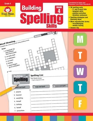 Building Spelling Skills : Grade 4
