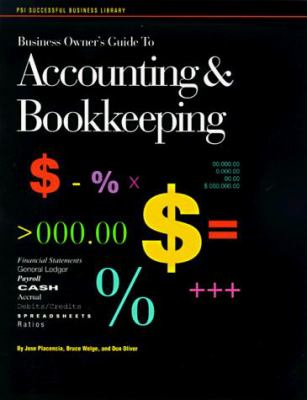Business Owners Guide to Accounting & Bookkeeping 9781555713812