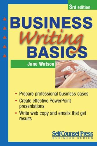 Business Writing Basics 9781551807690