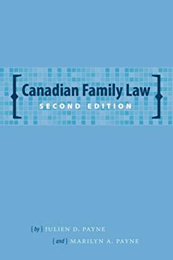 Canadian Family Law 9781552211120
