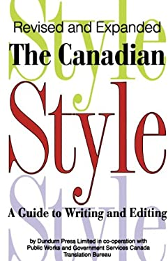 The Canadian Style 9781550022766