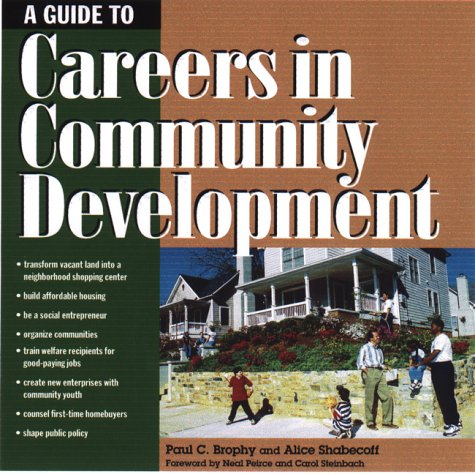 Careers in Community Development 9781559637503