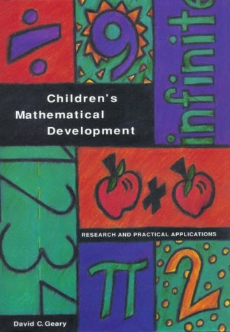 Children's Mathematical Development: Research and Practical Applications 9781557982582