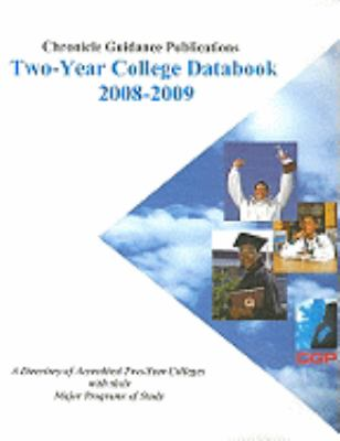 Chronicle Two-Year College Databook: Schools Offering Programs That Result in an Occupational Certificate/Diploma or an Associate Degree 9781556313509