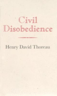 Civil Disobedience 9781557094179