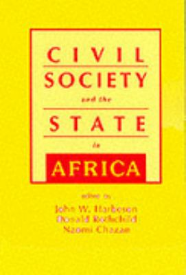 Civil Society and the State in Africa 9781555876418