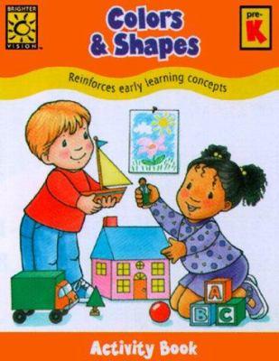 Color & Shapes Activity Book 9781552541487