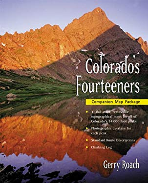 Colorado's Fourteeners Map Pack 9781555914318