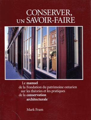Conserver Un Savoir-Faire 9781550460773