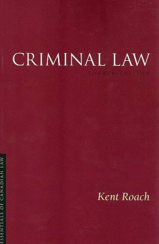 Criminal Law 9781552211618