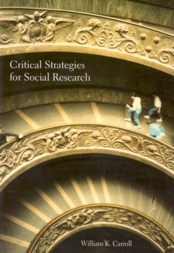 Critical Strategies for Social Research 9781551302515