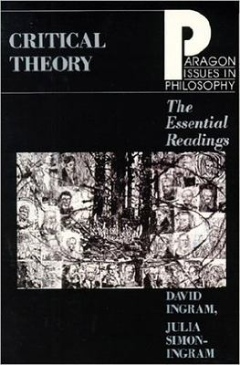 Critical Theory Essential Read 9781557783530