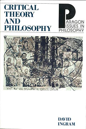 Critical Theory Philosophy 9781557782014
