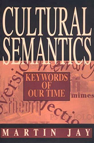 Cultural Semantics -Cp 9781558491168