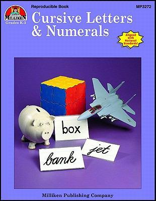 Cursive Letters & Numerals 9781558630659