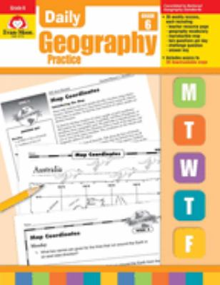 Daily Geography Practice: Grade 6 [With Transparencies] 9781557999757