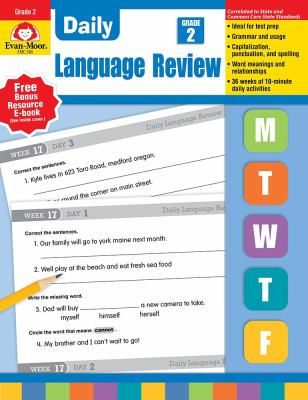 Daily Language Review, Grade 2 9781557996565