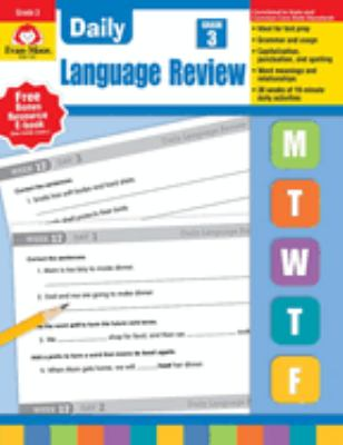 Daily Language Review, Grade 3 9781557996572