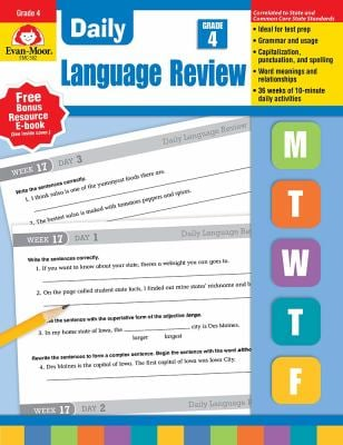 Daily Language Review, Grade 4 9781557996589