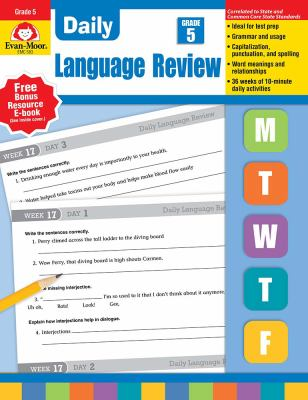 Daily Language Review, Grade 5 9781557996596