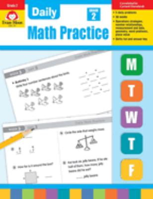 Daily Math Practice, Grade 2 by Jo Ellen Moore, Evan-Moor