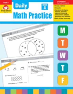 Daily Math Practice, Grade 4 9781557997449