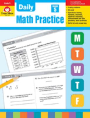 Daily Math Practice, Grade 5 9781557997456