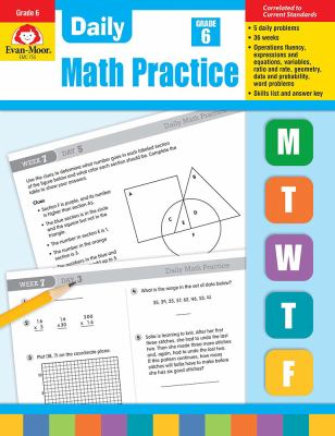 Daily Math Practice, Grade 6+ 9781557997463