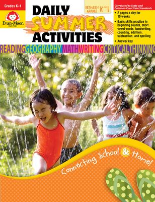 Daily Summer Activities, Moving from K to 1st Grade 9781557997654