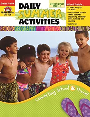 Daily Summer Activities, Moving from Prek-K 9781557997647